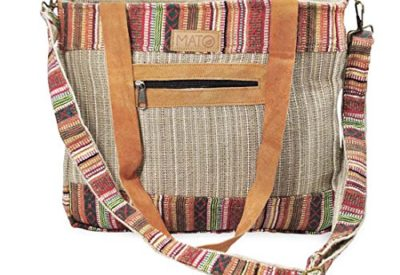 d51b6d0b44 Mato Boho Crossbody Shoulder Hemp Tote Bag Bohemian Shopping Handbag Tribal  Aztec Baja Pattern